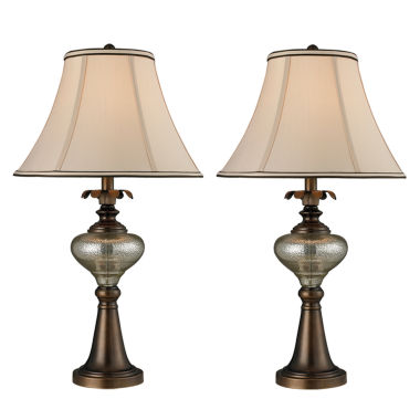 jcpenney.com | Dale Tiffany™ Bingham 2-Piece Table Lamp Set