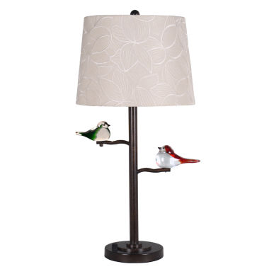jcpenney.com | Dale Tiffany™ LED Finch Table Lamp