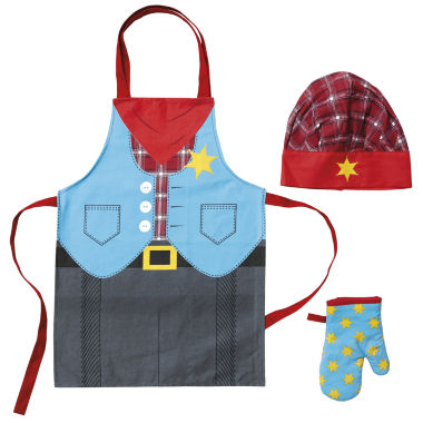 jcpenney.com | Ladelle Cowboy Kids Chef Set