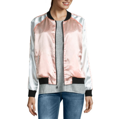 jcpenney.com | i jeans by Buffalo Reversible Satin Bomber Jacket
