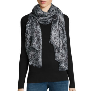 jcpenney.com | Mixit™ Tapestry Floral Jacquard Day Wrap