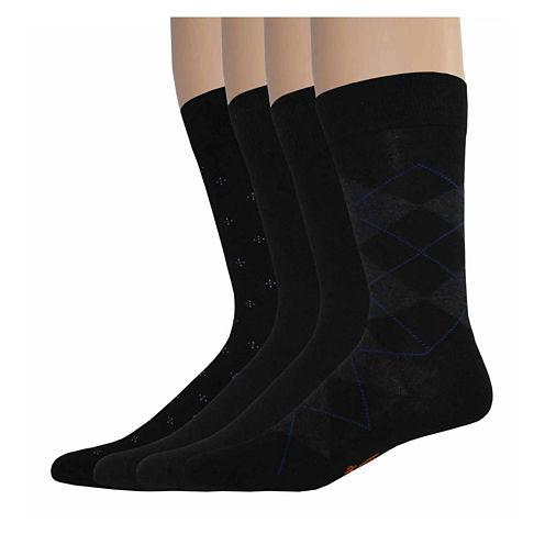 Dockers® 4-pk. Dress Crew Socks