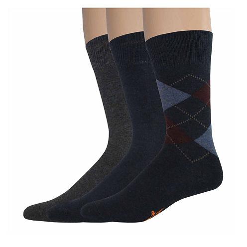 Dockers® 3-pk. Casual Crew Socks