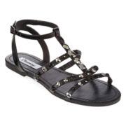 Olsenboye® Coco Stone-Embellished Flat Sandals