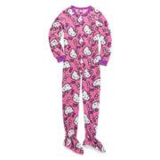 Hello Kitty® One-Piece Blanket Sleeper - Girls 4-10
