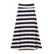 by&by Girl Striped Maxi Skirt - Girls 7-16