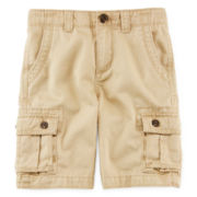 Arizona Solid Cargo Shorts – Boys 4-7