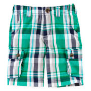 Arizona Plaid Cargo Shorts – Boys 4-7