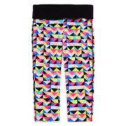 Xersion™ Print Capris - Girls 7-16 and Plus
