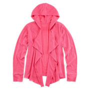 Xersion™ Cozy Hooded Cardigan - Girls 6-16