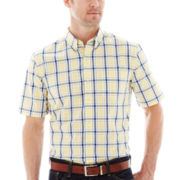 St. John's Bay® Easy-Care Poplin Shirt
