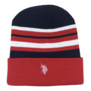 U.S. Polo Assn.® Reversible Striped Cuff Beanie