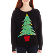 Love By Design Long-Sleeve Holiday Sweater