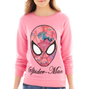 Marvel® Long-Sleeve Spiderman Sweatshirt