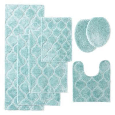 Wonderful Blue And Grey Bathroom Accessories Ideas - Best Image ...