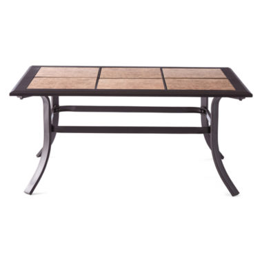 jcpenney.com | Outdoor Oasis Hambrick Lattice Outdoor Coffee Table