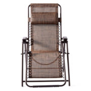 Outdoor Oasis Hambrick Outdoor Sling Recliner