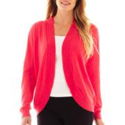 Liz Claiborne® Shawl-Collar Cardigan Sweater