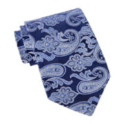 Stafford® Crown Paisley Tie–Extra Long