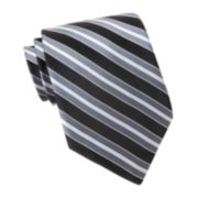 Stafford® Bliss Striped Tie–Extra Long