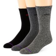 IZOD® 3-pk. Cushioned Crew Socks