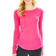 Flirtitude® Mix Match Long-Sleeve Sleep Tee