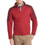 IZOD® Long-Sleeve Shaker Fleece Full-Zip Jacket