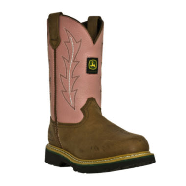 jcpenney.com | John Deere Womens Utility Leather Work Boots