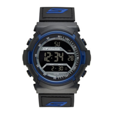 jcpenney.com | Skechers® Performance Mens Sport Digital Chronograph Watch with Negative Display