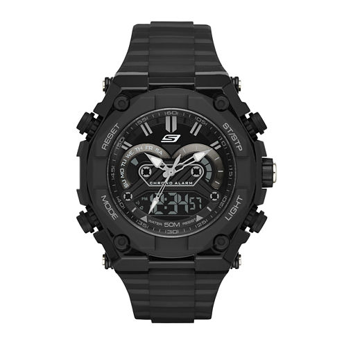 Skechers® Performance Mens Digital Chronograph Watch with Negative Display