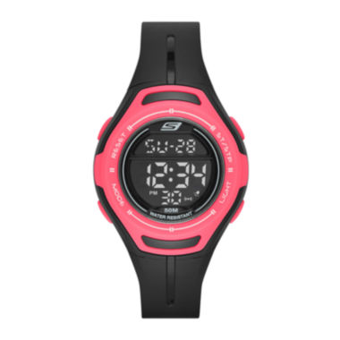 jcpenney.com | Skechers® Performance Womens Sport Digital Chronograph Watch with Negative Display
