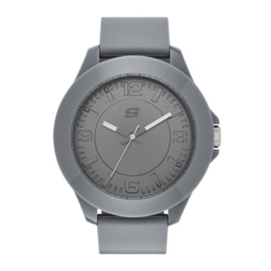 jcpenney.com | Skechers® Mens Gray Silicone Analog Watch