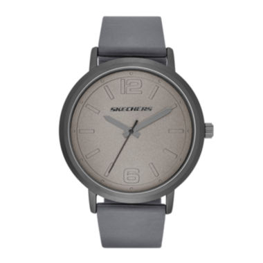 jcpenney.com | Skechers® Mens Casual Gray Silicone Strap Analog Watch