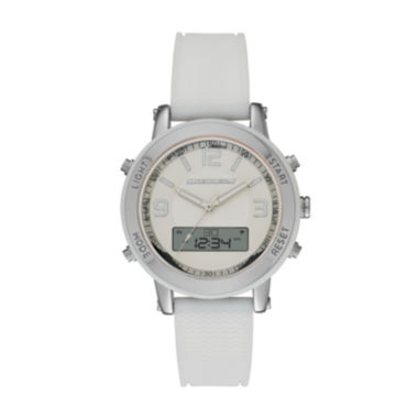 jcpenney.com | Skechers® Womens White Silicone Analog/Digital Chronograph Watch