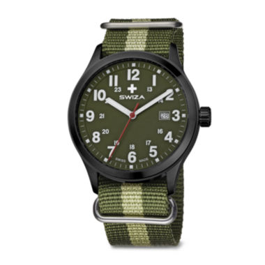 jcpenney.com | SWIZA Mens Green Strap Watch