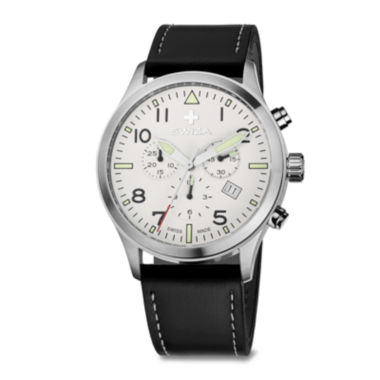 jcpenney.com | SWIZA Siruz Mens White Dial Brown Strap Watch