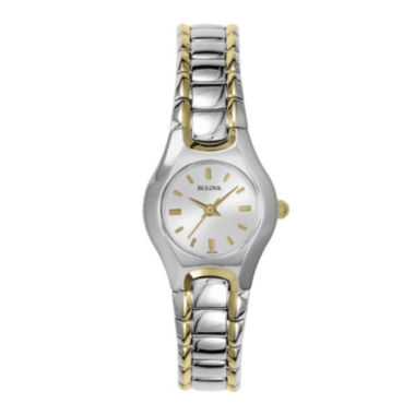 jcpenney.com | Bulova® Womens Two-Tone Watch 98T84