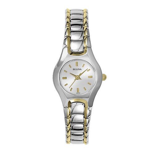 Bulova® Womens Two-Tone Watch 98T84