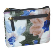 Buxton® Floral Pik-Me-Up Coin Case Wallet