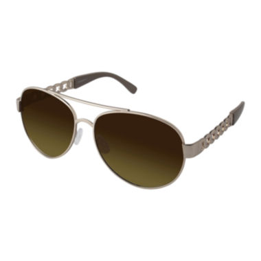 jcpenney.com | Southpole® Chainlink Aviator Sunglasses