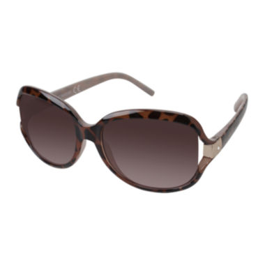 jcpenney.com | Rocawear Rhinestone-Accent Vented Oval Sunglasses