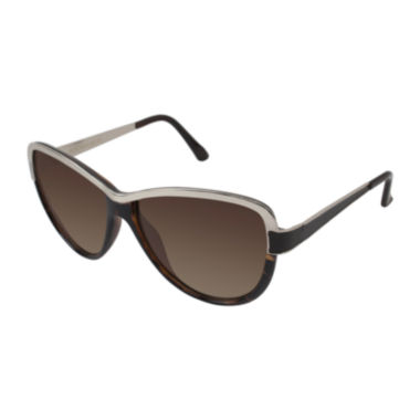 jcpenney.com | Rocawear Metal-Accent Cat-Eye Sunglasses