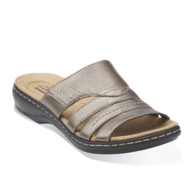 jcpenney.com | Clarks® Leisa Grove Leather Sandals