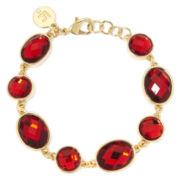 Liz Claiborne® Red Crystal Bracelet