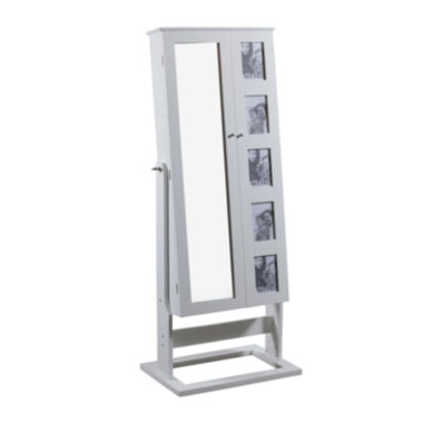 jcpenney.com | White Cheval Photo Jewelry Armoire