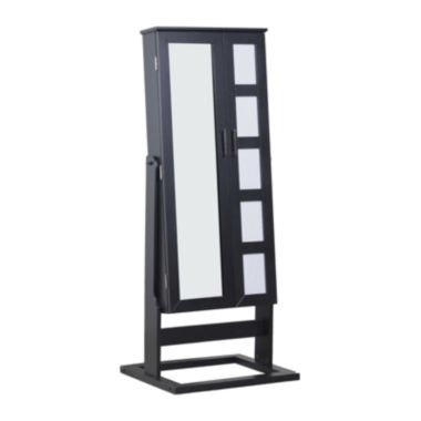 jcpenney.com | Black Cheval Photo Jewelry Armoire