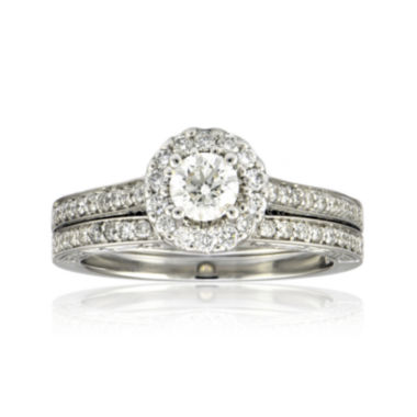 jcpenney.com | LIMITED QUANTITIES 1-1/0 CT. T.W. Diamond Bridal Ring Set