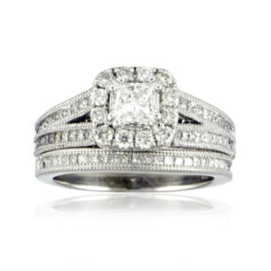 jcpenney.com | LIMITED QUANTITIES 1¾ CT. T.W. Diamond Bridal Ring Set