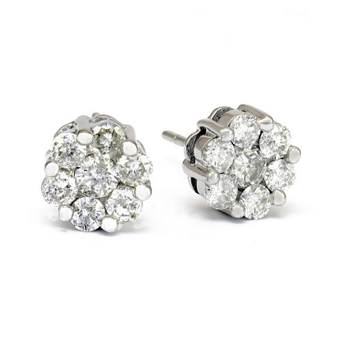LIMITED QUANTITIES 1 CT. T.W. Diamond Stud Earrings