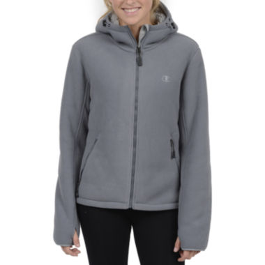 jcpenney.com | Champion® Sherpa-Lined Microfleece Hooded Jacket - Plus